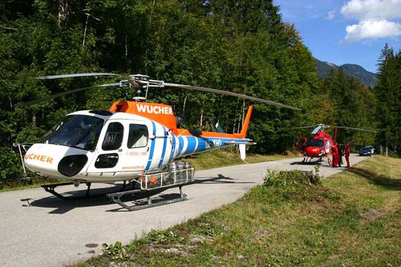 Planung von Helikopter-Lastentransporten