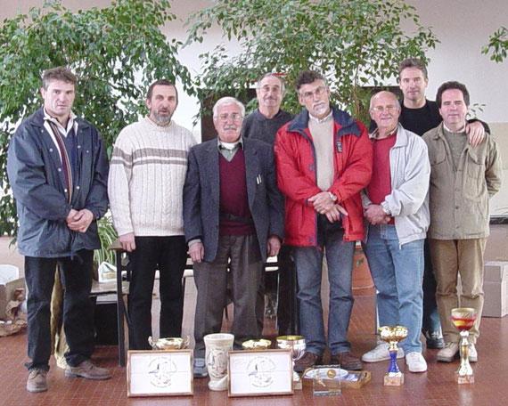 L Lagabarre, R Desbois, M Alonso, G Vergnaus, Ph Meunier, J Poncelet, ch Carette, Y Péreira