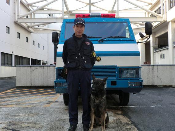 大阪府警嘱託警備犬(ゴン)