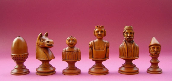Reproduction chess piece bright side       ( Owner Andreas Wittike )