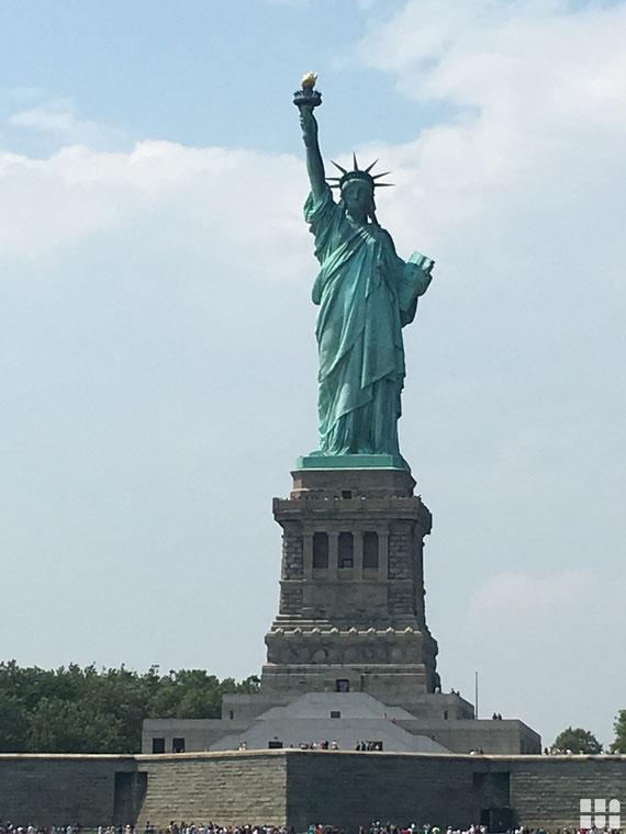 Statue of Liberty - Rejse til New York