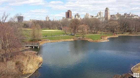 Central Park i New York - Rejse til New York