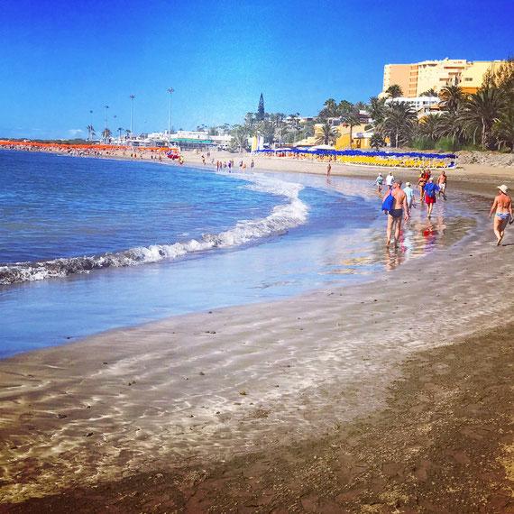 Stranden i Playa del Inglés