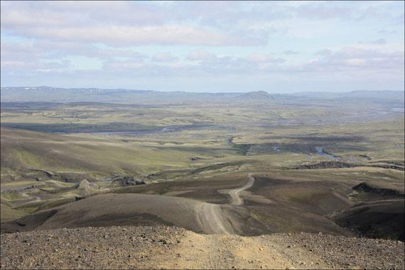 Auf der Sprengisandur quer durch Island an die Südküste