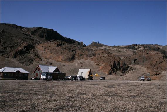 Zeltplatz bei der Askja