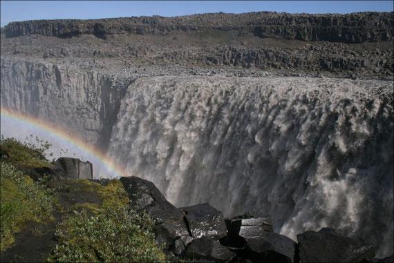 Dettifoss - Grösster Wasserfall Europas