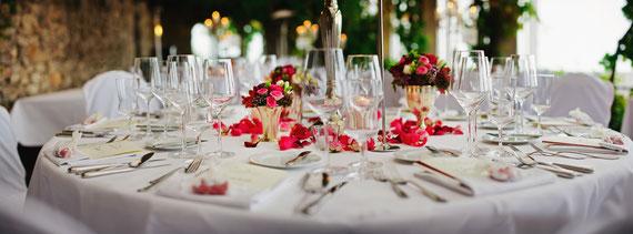 Floristik Dekoration Tischdekoration Raumdekoration Events Hochzeiten Partys