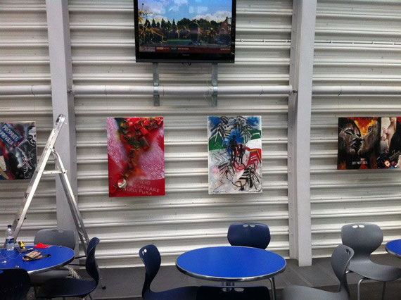 Exhibition 20th September 15th October 2012 - The Hub Canning Town - West Ham Grassroots.