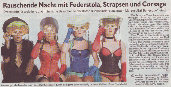 Nürnberger Nachrichten, 15.5.2009