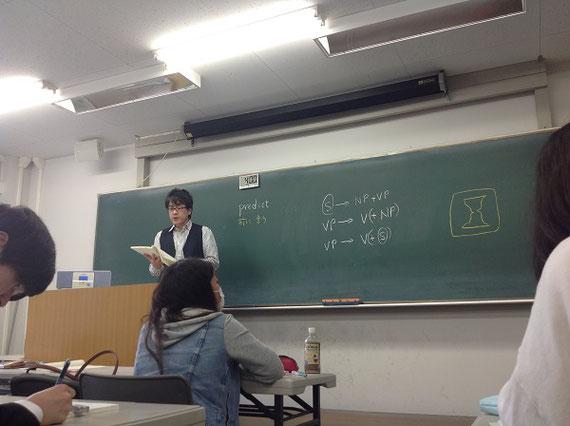 横浜国立大学にて