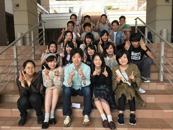 滋賀県にある同志社大学の施設(リトリートセンター)でのゼミ合宿