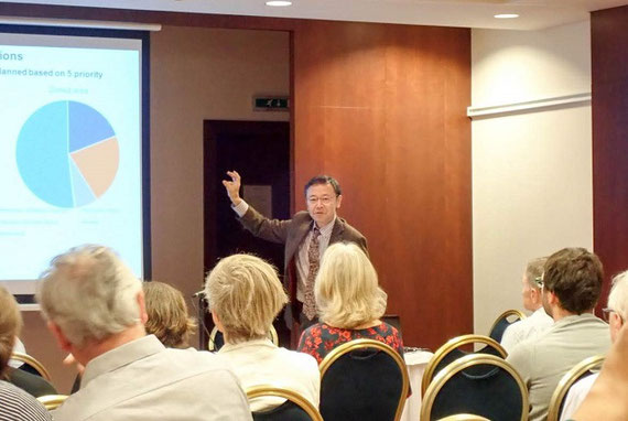 欧州スロバキアで開催された「欧州・水関係の生態系サービスの支払い研究ネットワーク」総会での招聘講演