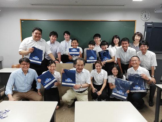 学生、院生たちと世界教育学会10周年記念大会