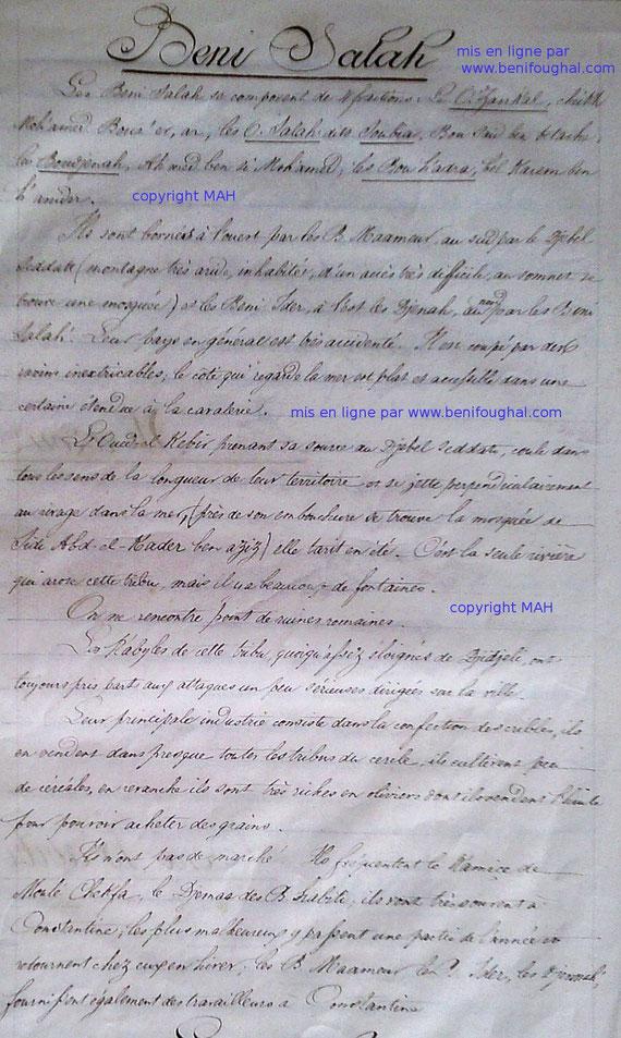 Beni Salah 1845