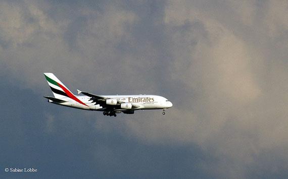 A380 im Flug