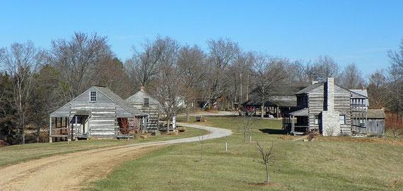 Gedenkstätte der Sächsisch-Lutherischen Auswanderer in Frohna/Missouri; Quelle: en.wikipedia.org/wiki/Saxon Lutheran Memorial, Markkaempfer (Ausschn.)