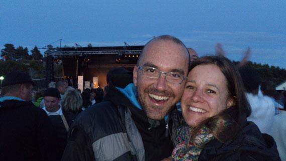 Thomas und Andrea in Massleberg Schewden - 2012 Juli