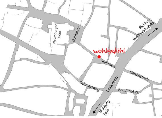 Boutique Wohlgefühl Lage Steinweg Innenstadt Naumburg
