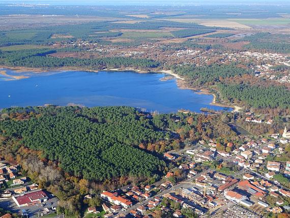 Aerial view Sanguinet