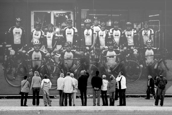 15.08.2010 Das Rennteam der RSG in Hamburg Vattenfall Cyclassics