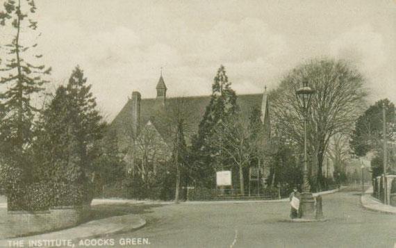 The Institute/Public Hall, c. 1905