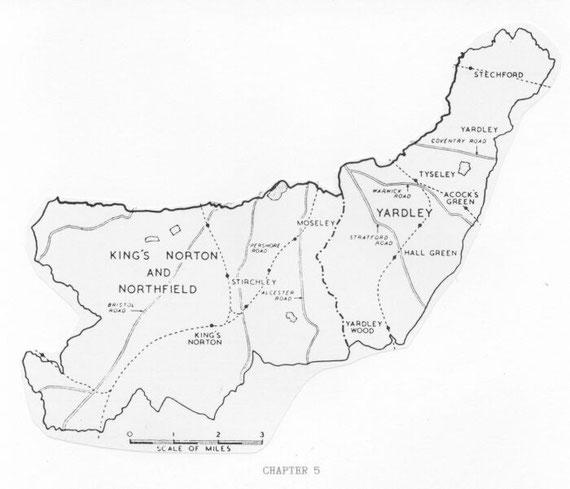 Parish boundaries 1911