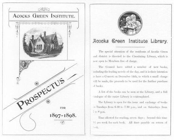 Acocks Green Institute