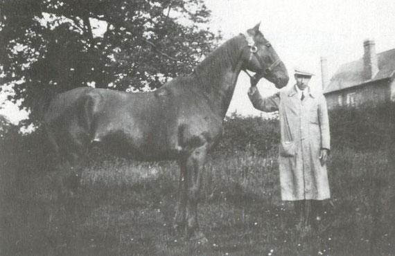 Leonard Skan and his horse Peter