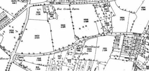 Ordnance Survey 1888 (extract)