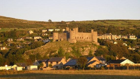 Harlech Castle, Harlech, Wales.