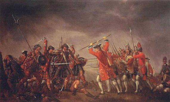 The Battle of Culloden by David Morie (1746)