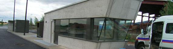 2005 - 2 Déchetteries à Obernai , Krautergersheim (67) - projet HQE Mission complète - (associé à MCPG architectes) MO: communauté de communes du pays de Sainte Odile - Surface: 2x5000 m² (dont 2x 2 500 m² SU, dont 2x20 m² SHON) Budget: 900 000 € HT