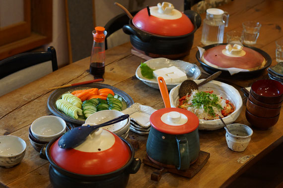 陶芸家 焼き物 陶器 土鍋 料理 撮影 ドキュメンタリー 茨城県笠間市 女性陶芸家 ブログ