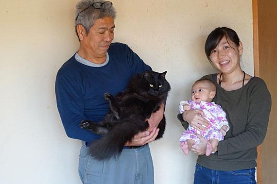 仲本律子 陶芸作家 ブログ 女性陶芸家 茨城県笠間市  謹賀新年 猫 赤ちゃん
