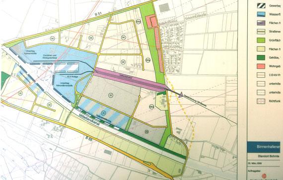 Ausschnitt aus der Machbarkeitsstudie 2008 der Stadtwerke Osnabrück AG