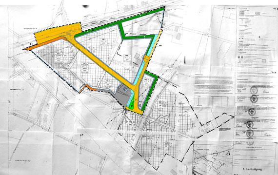 """B-Pläne Nr. 109 und """"Industrie- und Gewerbegebiet Mittellandkanal III"""""""
