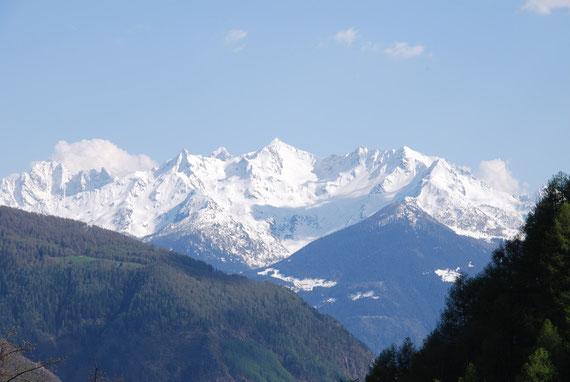 Porzione del CA di Sondrio vista dalla Valmalenco. Foto L.Corlatti