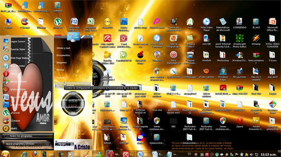 Tema Cristiano para windows 7