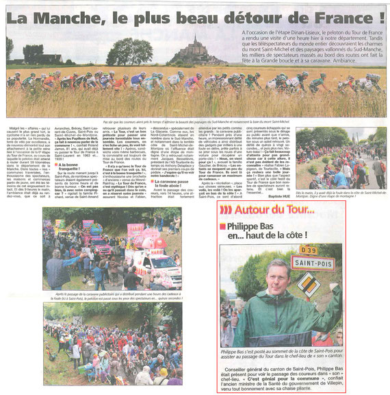 La Presse de la Manche, 08.07.2011