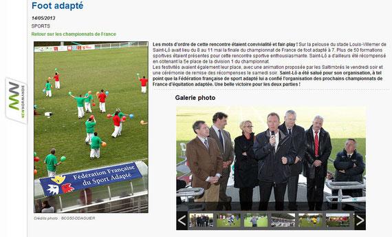 retrouvez l'info et la galerie d'images sur le site du conseil général : sports.manche.fr