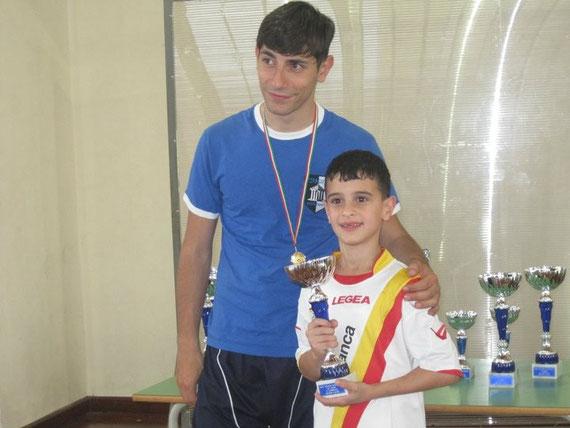 Claudio La Torre, campione siciliano categoria giovanile 2011