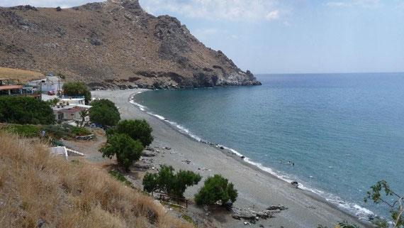 Strand westlich Lentas