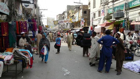 Rawalpindi, a 10km d'Islamabad. La jumelle pakistanaise de la capitale moderne
