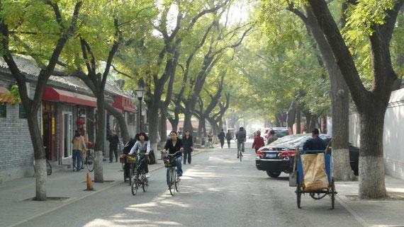 Dans le centre du vieux Pekin