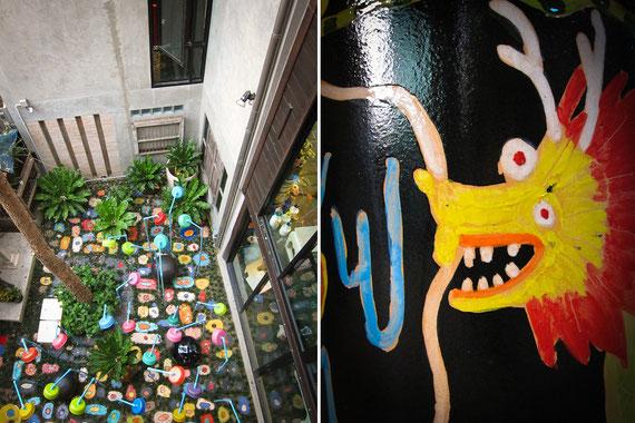 Tao Hong Tai 'd Kunst' Gallerie in Ratchaburi