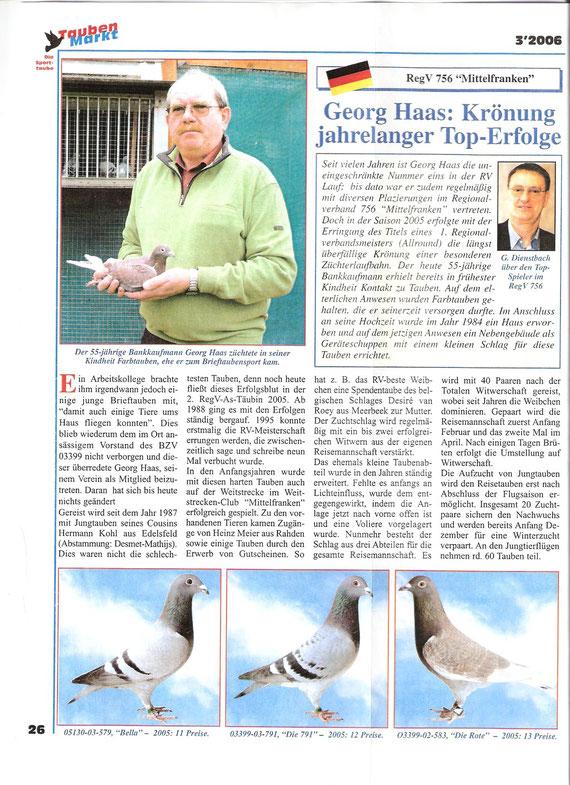 Bericht im Taubenmarkt