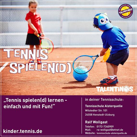 Minitraining Ballmagier - Ballschule - Tenniseinstieg