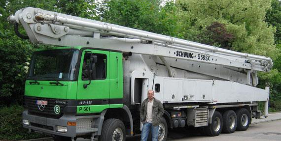 Großmastpumpe Schwing S58 SX