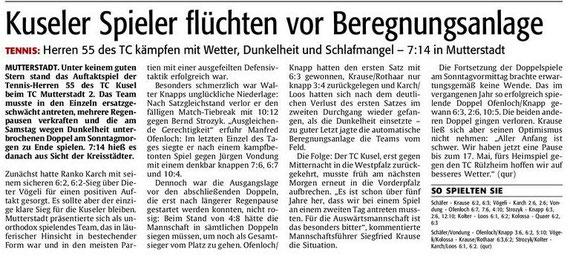 Quelle: Verlag: DIE RHEINPFALZ Publikation: Westricher Rundschau Ausgabe: Nr.106 Datum: Montag, den 07. Mai 2012 Seite: Nr.19