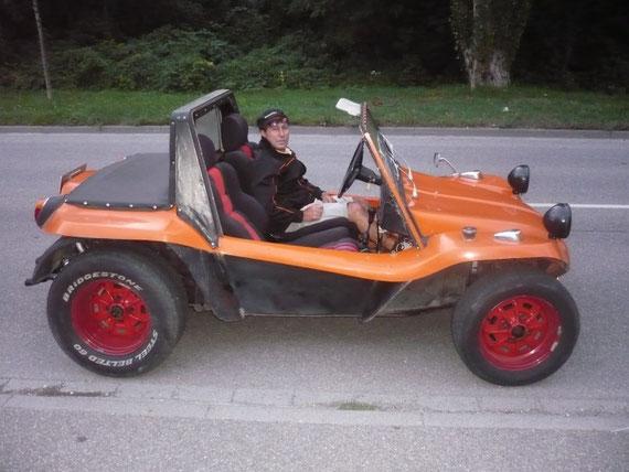 Manuel mit HAZ- Buggy